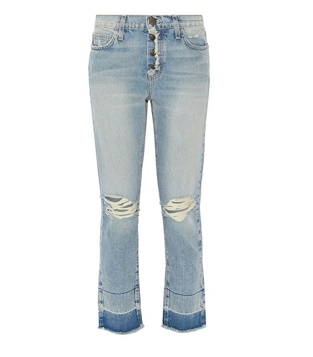 Current/Elliot The Vintage Cropped Jeans