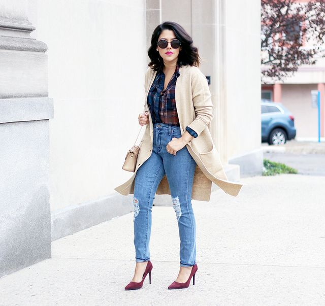 Pictured: Who What Wear Oversize Cardigan ($40) As every fashion girl knows, no stylish outfit is complete without an on-trend third piece, especially during the winter. We...