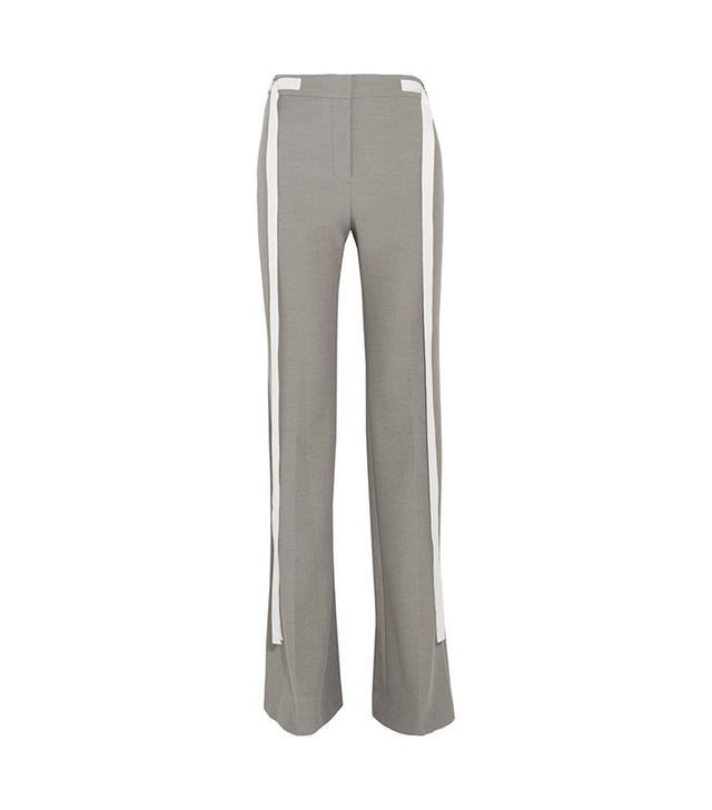 Adeam Chambray Wide-Leg Pants
