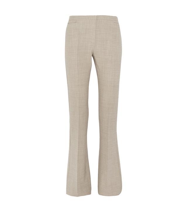 Max Mara Farnese Stretch-Wool Flared Pants