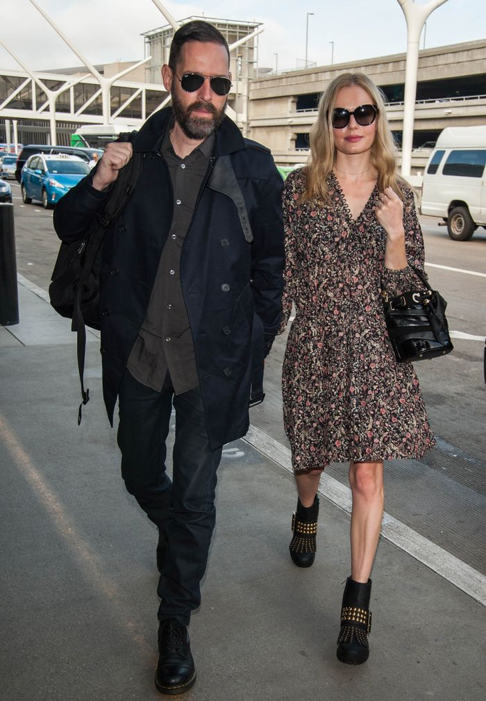 Kate Bosworth Airport Outfit Formula 2016