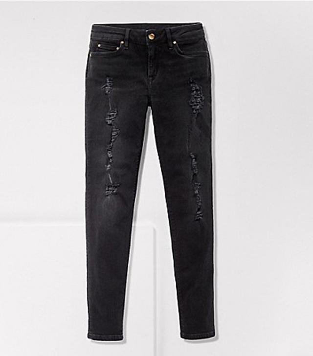 Tommy Hilfiger x Gigi Hadid Coal Skinny Fit Jean