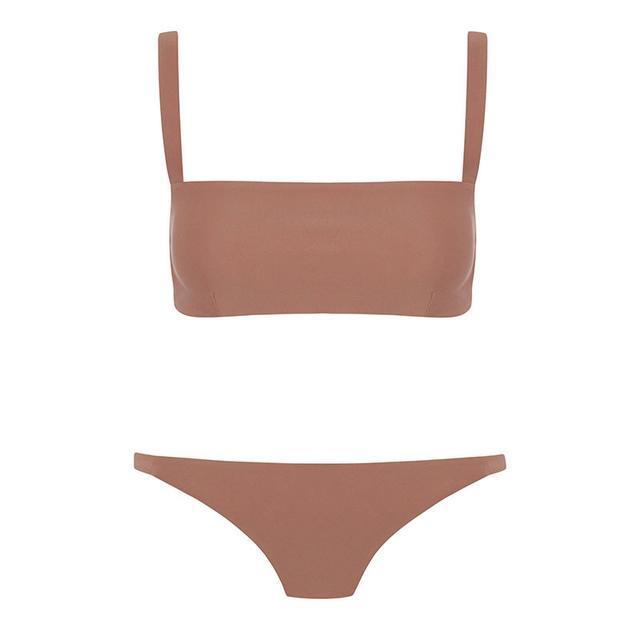 Matteau Square Crop Bikini Top