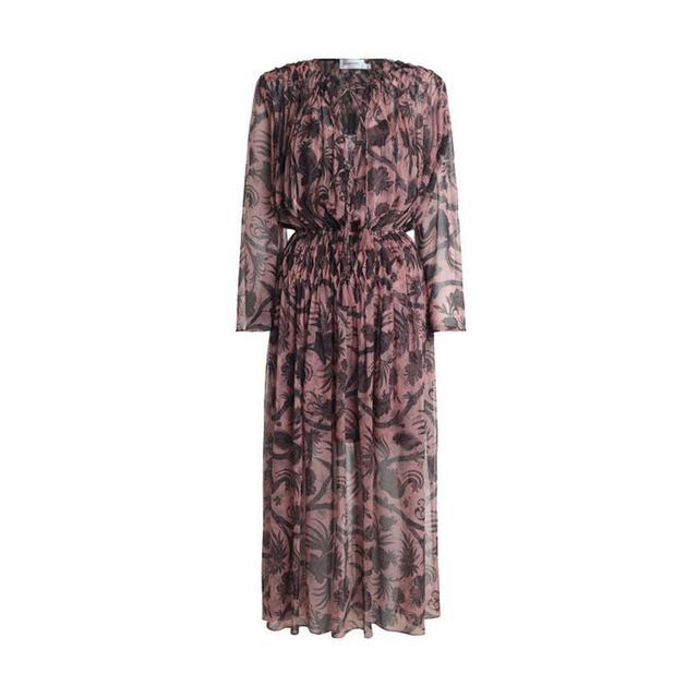 Zimmermann Lavish Smock Lattice Dress