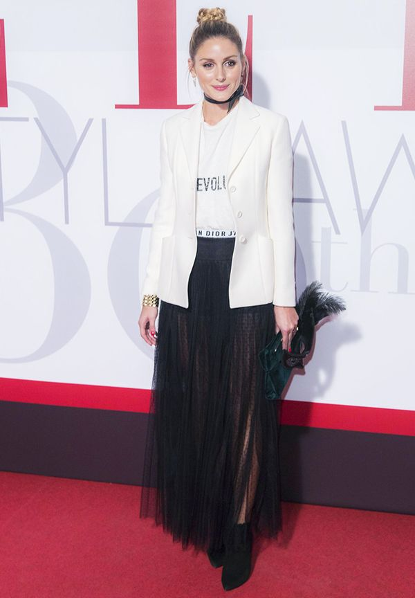 WHO: Olivia Palermo. WHAT: ELLE Style Awards, Madrid WEAR: Dior.