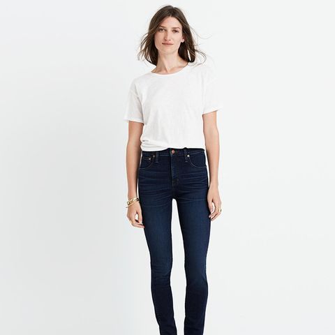 """10"""" High-Rise Skinny Jeans in Hayes Wash"""