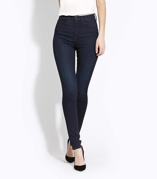 AYR High Rise Skinny Jeans in Jaguar Legs