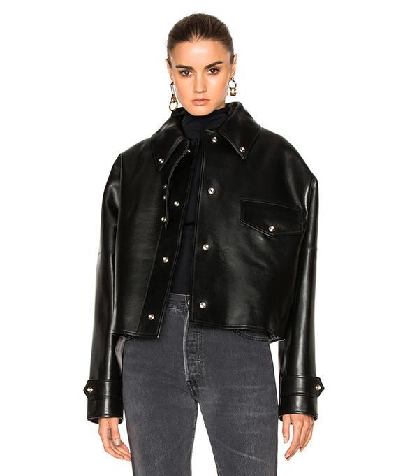 Acne Studios Chrismo Jacket in Black