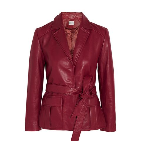 Passion Belted Leather Jacket