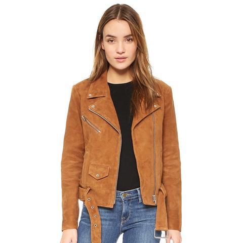 Jayne Suede Jacket