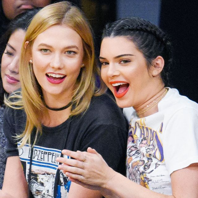 How Kendall Jenner and Karlie Kloss Do a Girls' Night Out