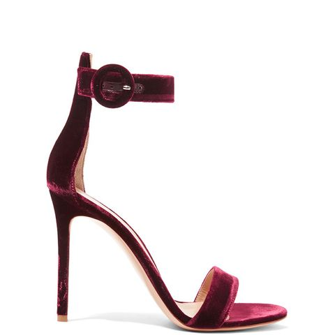Portofino Velvet Sandals