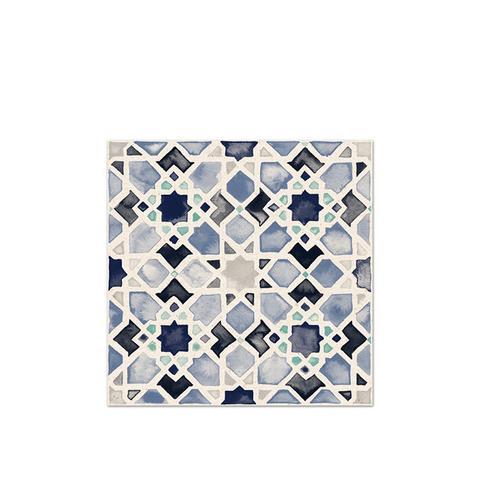 Moorish Tile No.4 in Azul