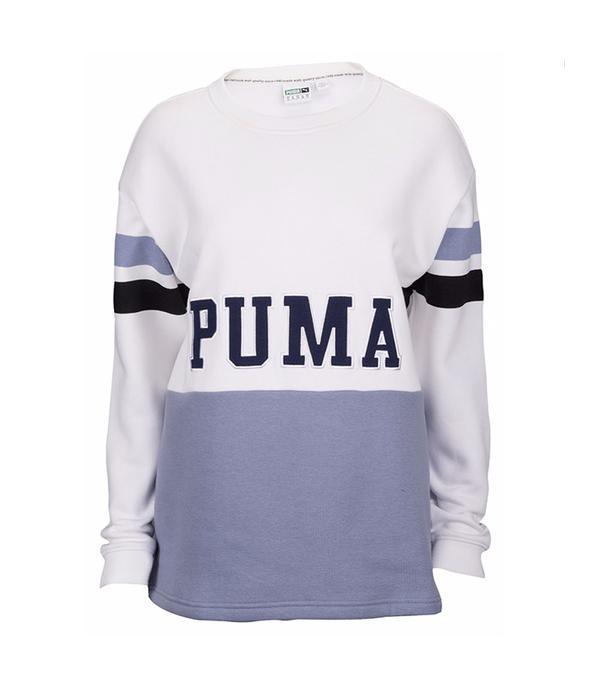 Puma Colorblock Crew Sweatshirt