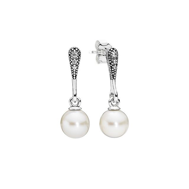 PANDORA Elegant Beauty Earrings