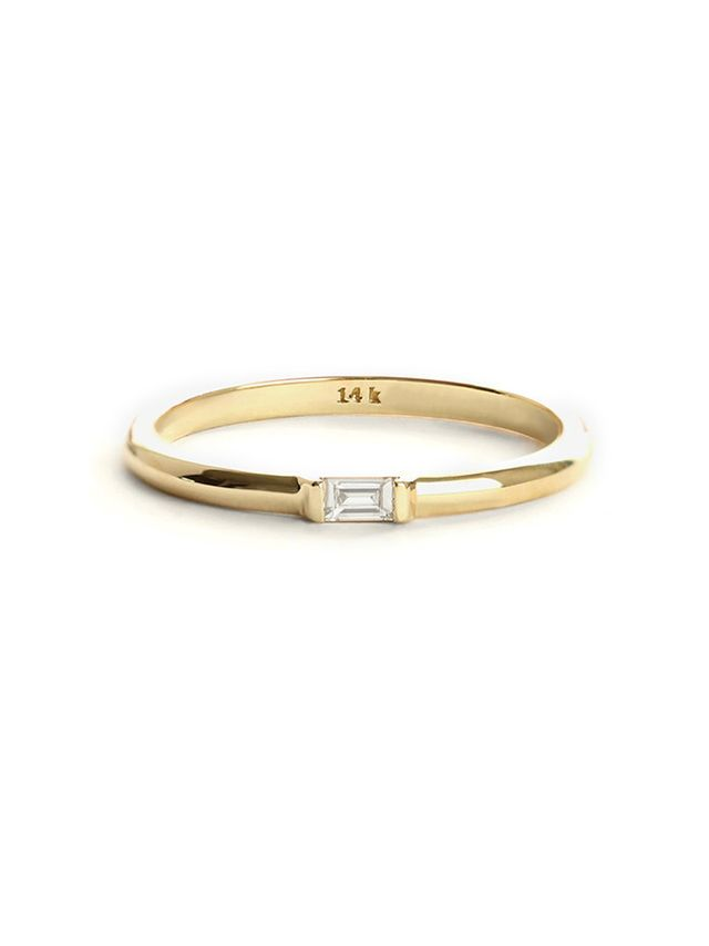 Vrai & Oro Baguette Diamond Ring