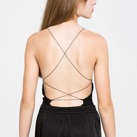 Criss Crossback Bodysuit