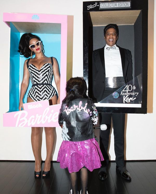 Who: Beyoncé, Jay-Z, and Blue Ivy Carter