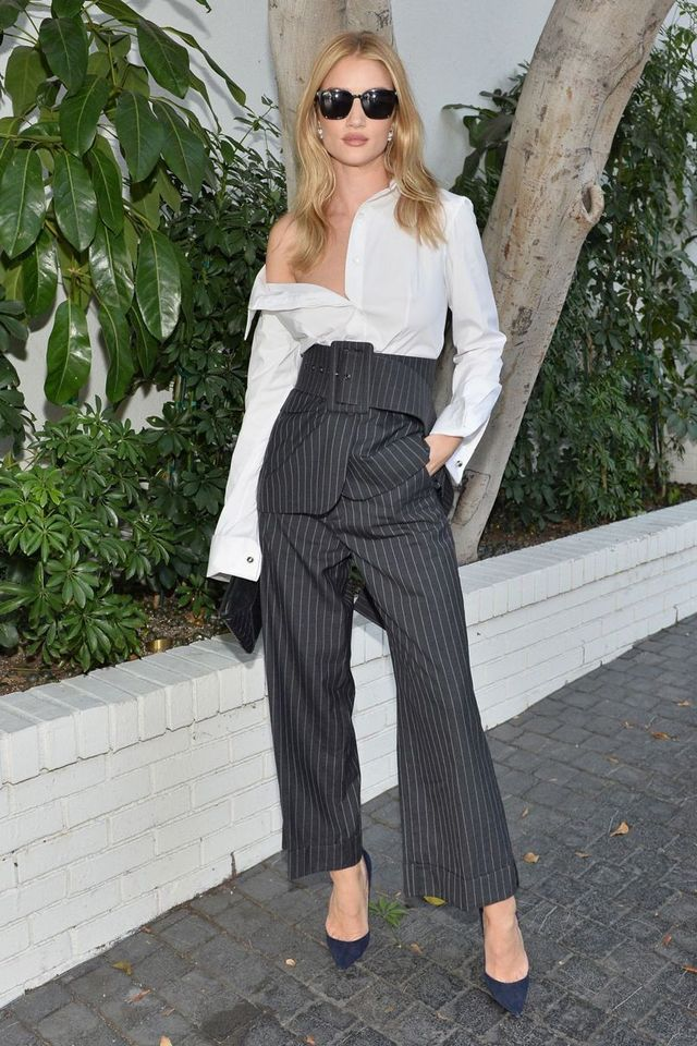 Rosie Huntington-Whiteley Monse Outfit CFDA/Vogue Fashion Fund