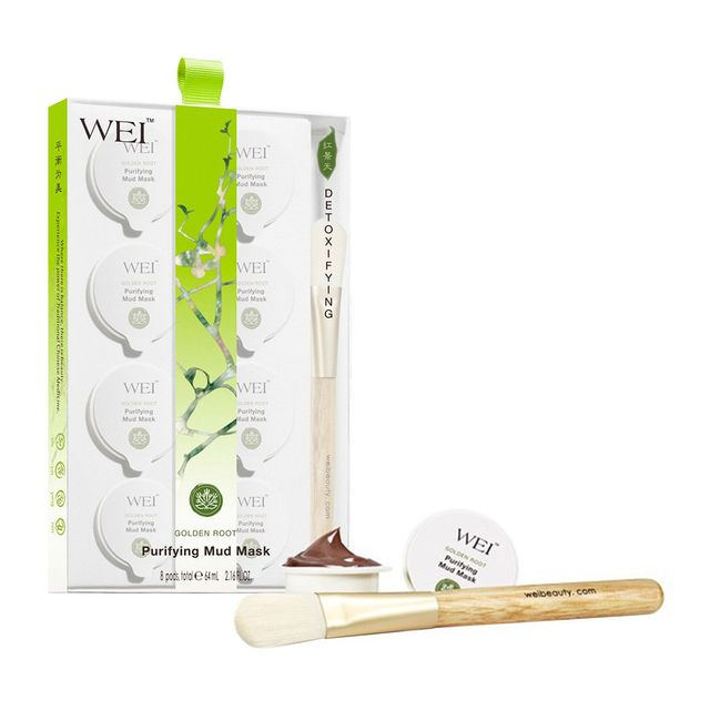 face masks for acne: Wei Beauty Golden Root Purifying Mud Mask