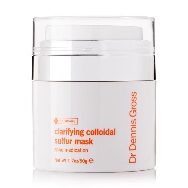 face masks for acne: Dr Dennis Gross Clarifying Colloidal Sulfur Mask