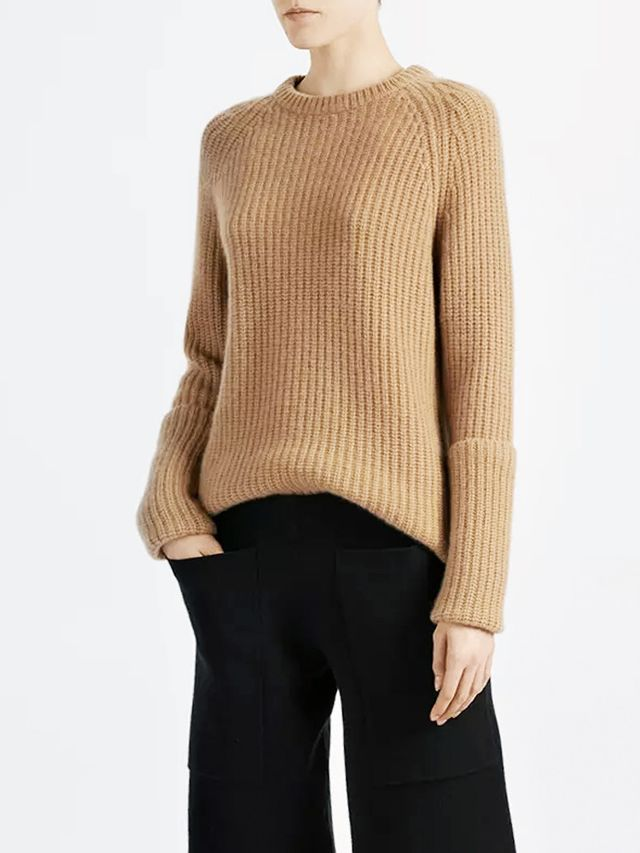 Joseph Cashmere Luxe Purl Sweater