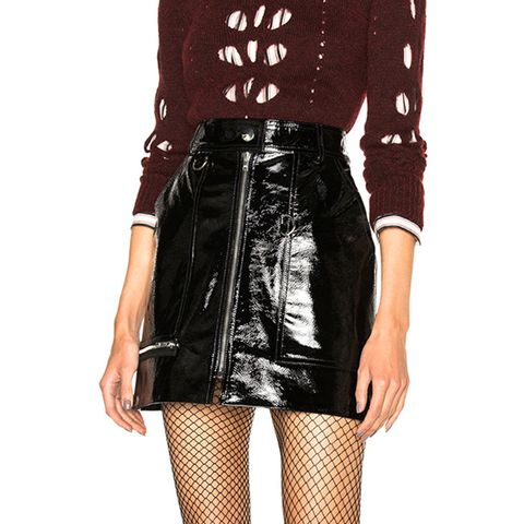 Lynne Patent Leather Skirt