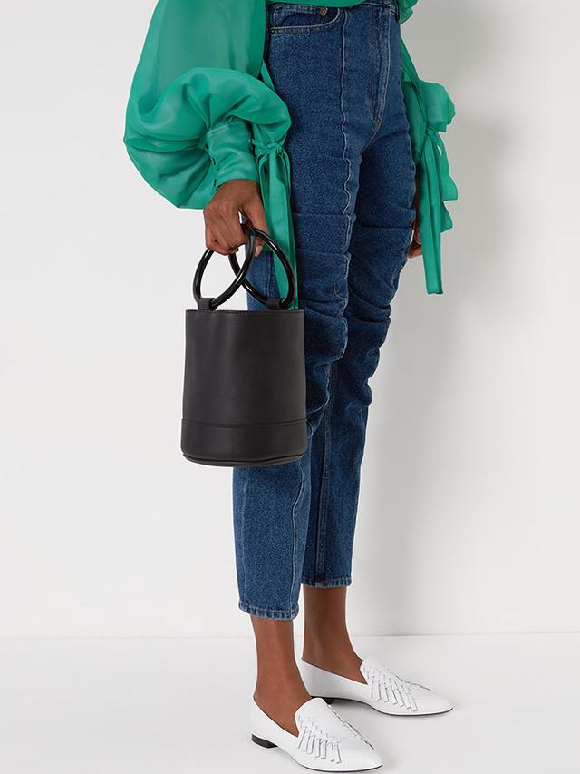 Simon Miller Black Leather Large Bonsai Bag
