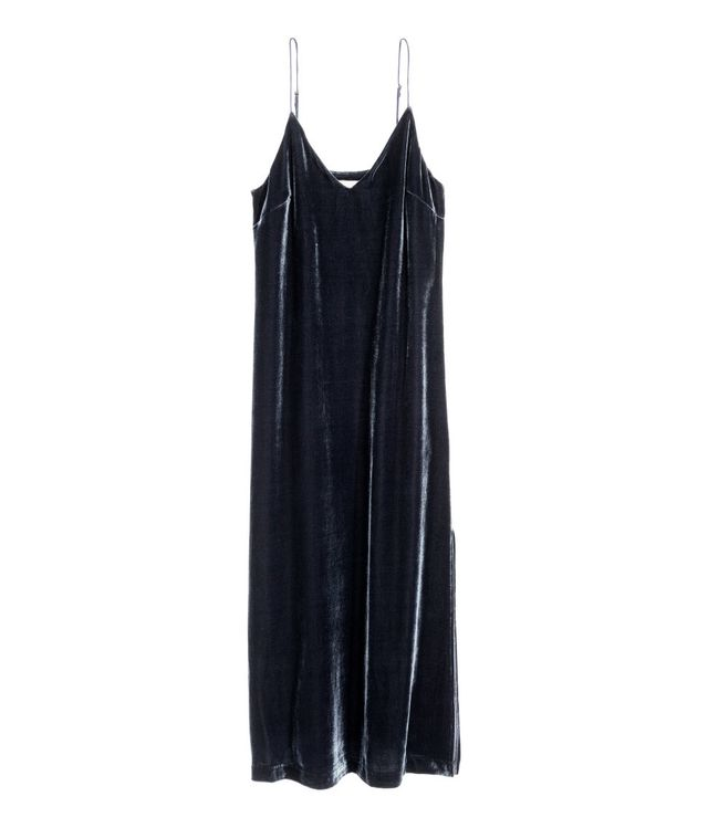 H&M Silk Blend Slip Dress