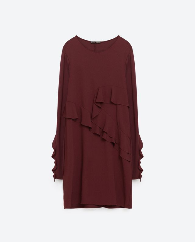Zara Frilled Dress