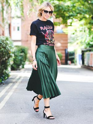 How to Wear Graphic Tees When You're a Grown-Up