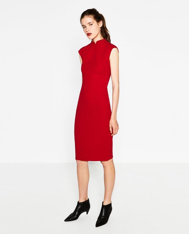 Zara Mao Collar Dress