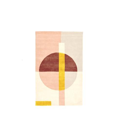 Roar + Rabbit Wabi Sabi Circle Wool Rug