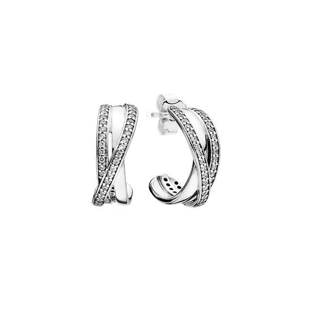 PANDORA Entwined Earrings