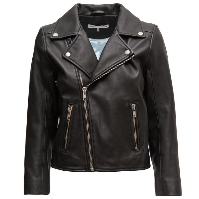 Ganni x Chiara Ferragni Passion Leather Jacket