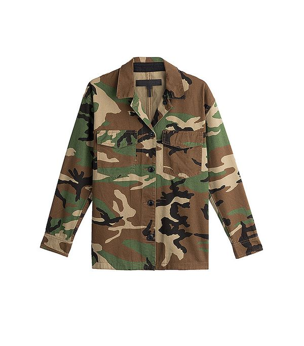 Rag & Bone Cotton Camouflage Jacket