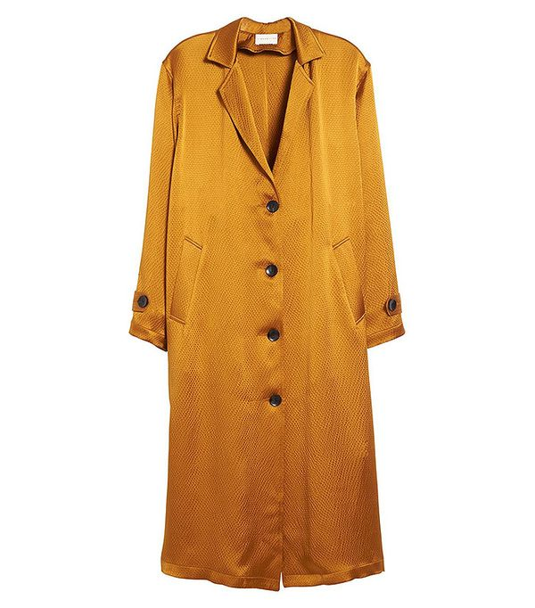 Simon Miller Oro Hammered Silk Coat
