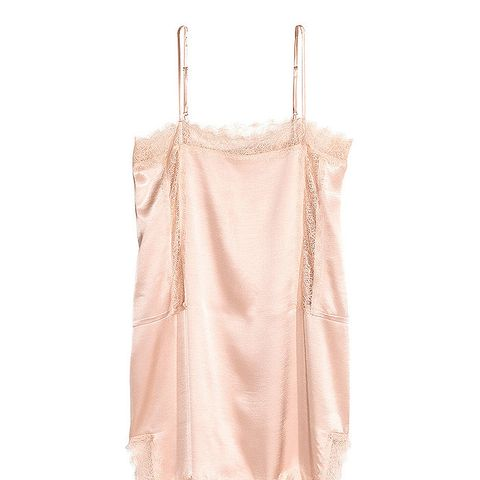 Long Satin Camisole Top