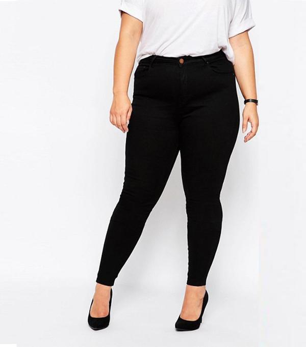 ASOS Curve Ridley Skinny Jean