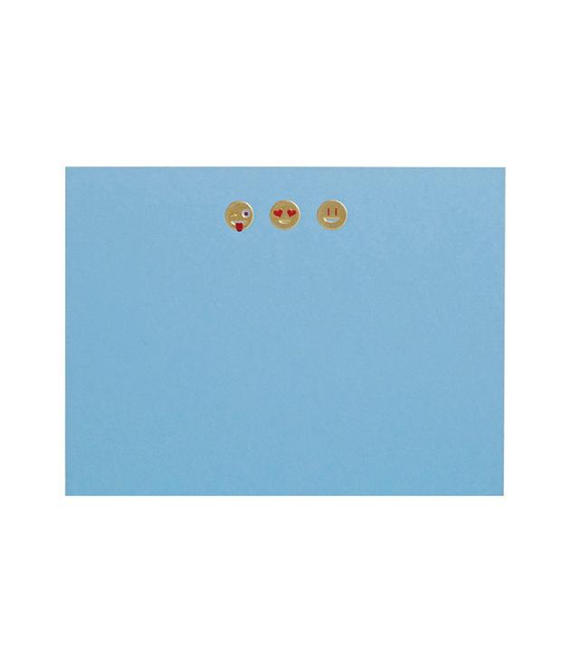 Connor Emoji Notecard Set