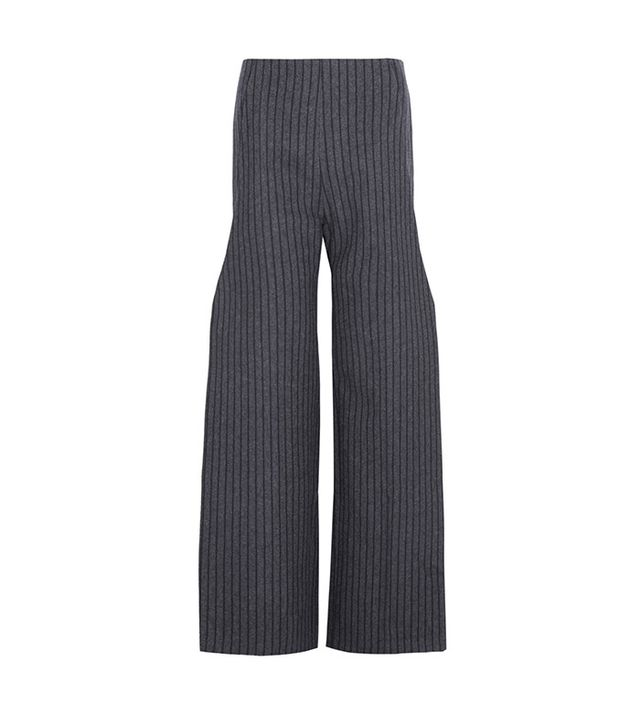 Jacquemus Pinstriped Wide-Leg Pants