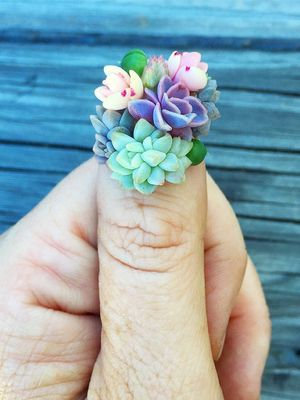 Succulent Nails Are the New Manicure Trend You Have to See to Believe