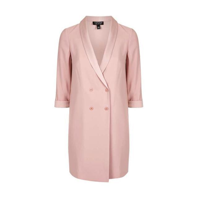 Topshop Soft Tailored Blazer Dress
