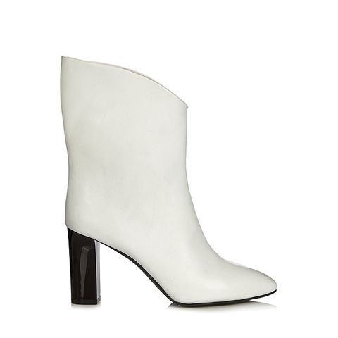 Ava V-Neck Ankle Boots