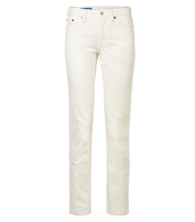 Acne South Mid-Rise Straight-Leg Jeans