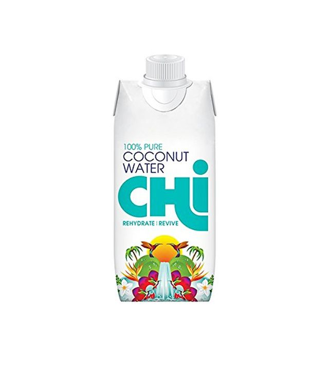 Chi 100% Pure Coconut Water, 12 bottles