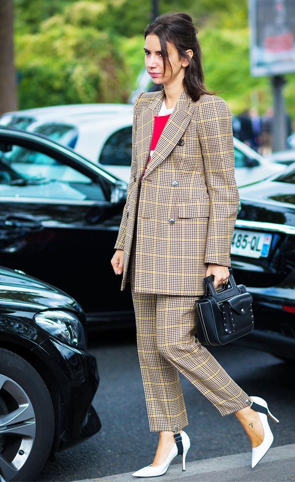 Head-to-toe Balenciaga done right, courtesy of style star Natasha Goldenberg.