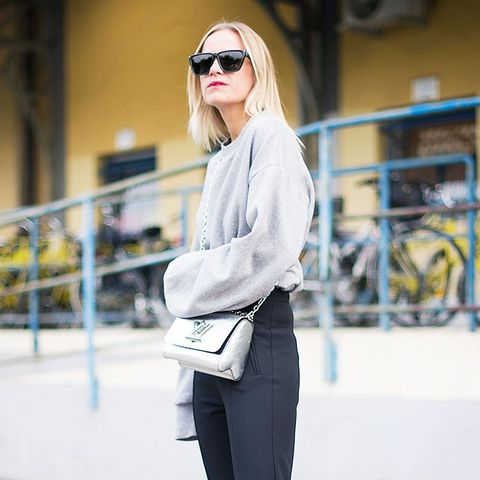 All the Fashion Girls Are Wearing This Leggings-Pants Hybrid