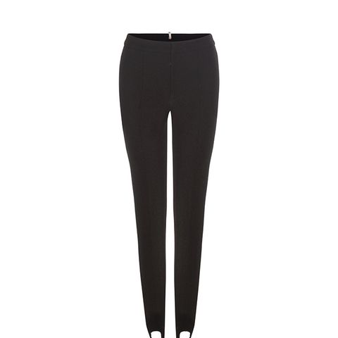 Crepe Stirrup Trousers