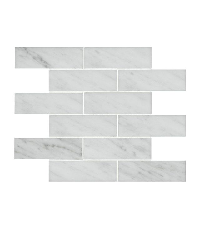 Waterworks Signet Staggered Mosaic Tile